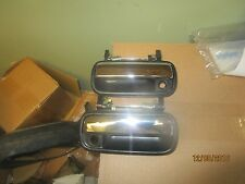 Toyota Hilux 89 90 91 - 95 4RunnerFront Outside Outer Door Handle Pair chrome