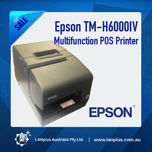 Epson TM-H6000IV Parallel USB M253A Receipt Thermal POS Printer with warranty