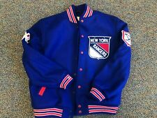Nostalgia Co NEW YORK Rangers Wool Jacket