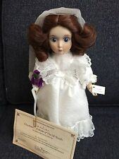 Danberry Mint Charlotte Bride Of The Ol' South Doll