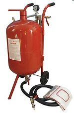 10 Gallon Sand Blaster Portable Air Sandblaster Tool High Pressure Tank Abrasive