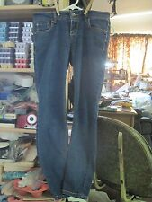 Vintage Woman's/Girl's RUE 21 sz5/ 6 Super Skinny Embroidered Blue Jeans..#504