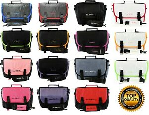 "Bush 12"" Portable DVD Player Twin compartment Messenger Case Bag by TGC ®"