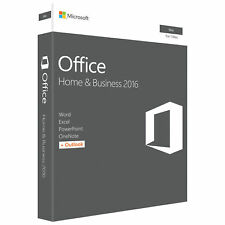 Microsoft MS Office Home and Business  2016 for Mac Product Key