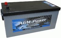 INTACT AGM Power Batterie AGM200 12Volt 200Ah Starterbatterie & Antrieb Auto LKW