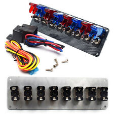 Universal 12V Car Racing Engine Start Push Button Toggle Ignition Switch Panel