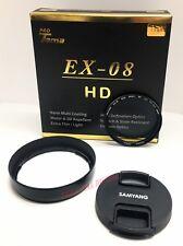 Samyang Lens Cap + Hood + ProTama 49mm UV Cut Filter for AF 35mm F2.8 FE Sony E