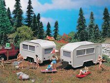 Vollmer 5147 Wohnwagen,  caravan  2 Stück Spur H0 OVP 1:87