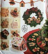 Simplicity Crafts Sewing Pattern #9768 CHRISTMAS GOODIES 32  Pattern Pieces Fun
