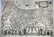 Antique map, Viertzig Iarige reysen der kinder Israel aus Egypten
