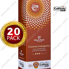 20 Capsules Gloria Jeans Coffee Caramel Indulgence Pods Caffitaly System