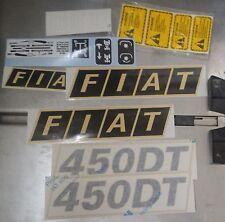ADESIVI DECALCOMANIA TRATTORE FIAT 450DT