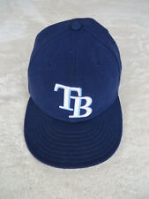 TAMPA BAY RAYSNEW ERA 59FIFTY FITTED MLB ONFIELD HAT CAP - 7 5/8