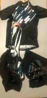 Specialized RBX Comp Jersey/Short/Bib WMNS SKYLT/BLK Medium Cycling Kit 3 piece3