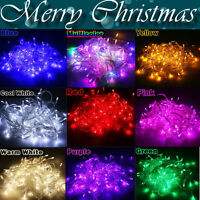 10M 100 LED EU Plug  Xmas Party Decor Outdoor Fairy String Light Lamp Waterproof