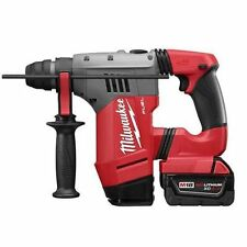 "NEW MILWAUKEE 2715-22 M18 CORDLESS FUEL 1 1/8"" SDS PLUS ROTARY HAMMER DRILL KIT"