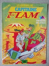LE JOURNAL DE CAPITAINE FLAM N° 9 - TON HEROS DE LA TELE TF1 1981 SERIE TV  BD