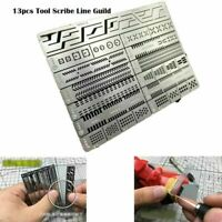 13pcs Modeling Tools Accessory Scriber Craft Tool Scribe Line Guild Board AJ0090