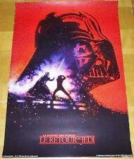 Star Wars Vintage 1983 - Affiche / Poster ADVANCE - LE RETOUR DU JEDI