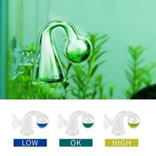 CO2 Glass Drop Checker - Aquarium Real time Solution Liquid Indicator Hot