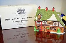 Department 56 Dickens Village-Nicholas Nickleby Cottage 59250 X786