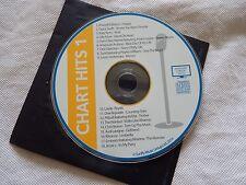 Sunfly Karaoke Disk (CD+G) - Chart Hits 1 - 18 tracks (orange label)