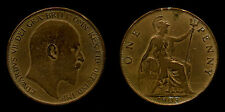 one penny rame / copper Edward VII 1903