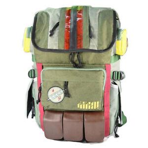 Star Wars Boba Fett Backpack Laptop Bag School Bag Travel Outdoor Bag Gift
