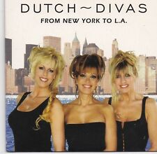 Dutch Divas-From New York To LA cd single