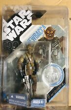 Star Wars Chewbacca 30th Anniversary Silver Coin Figure 2007 W/ Protector Case