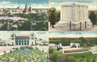200 + Antique Postcards LARGE LOT American Places USA Towns Cities + FREE SHIP!
