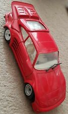 MODEL OF A PORSCHE GEMBALLA RED SPORTS CAR SCALE 1:24 BY REVELL 1990 AUTOMOBILE.