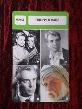 PHILIPPE LEMAIRE  -  MOVIE STAR - FILM TRADE CARD - FRENCH