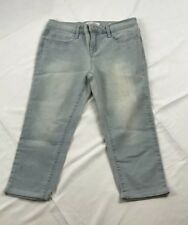 Jessica Simpson Girls Croped Jeans Size 8 NWT