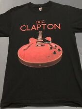 Eric Clapton 2017 Tour Guitar Mens Small S T-Shirt 50 Years Of Music Rock N Roll
