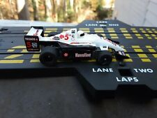 Tyco #5 Havoline Kmart F1 HO Slot Car White Black Red Texaco 440x2 Formula Indy