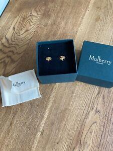 Mulberry Tree earrings bnib