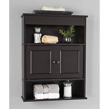 Medicine Cabinet Espresso For Bathroom Organizer Shelves Bath Storage Toilet