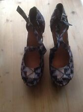 Asos high wedge Sandals size 7