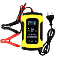 FOXSUR 12V 5A Pulse Repair LCD Battery Charger For Car Motorcycle Agm Gel Wet