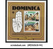 DOMINICA - 1977 CARIBBEAN BOY SCOUT JAMBOREE - Miniature Sheet - MINT NH