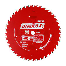 Freud D1040A Diablo 10-inch 40-Tooth ATB General Purpose Miter Saw Blade