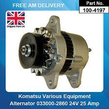 Alternator For Komatsu 0-33000-5870 6008215580 6008216120 6008216140