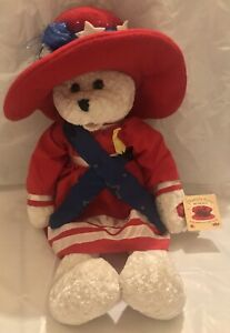 "Chantilly Lane Musical 22"" Betsy Bear Sings God Bless America"