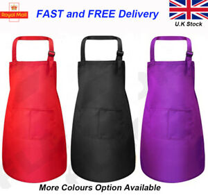 Kids Apron Chef Children Cooking Fancy Dress Play Apron for Boys Girls 3-6