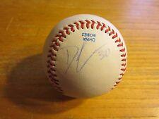 Donell Linares Autographed Signed Rawlings Baseball MLB Baseball Atlanta Braves
