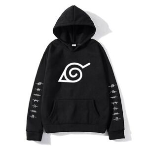 Fleece Hoodies Sweatshirt Japanese Anime Streetwear