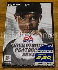 TIGER WOODS PGA TOUR GOLF 2005 - PC ESPAÑA - NUEVO PRECINTADO