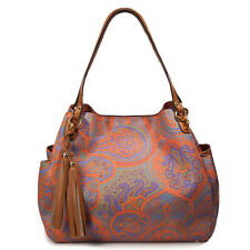 Eric Javits Luxury Fashion Designer Women's Handbag - Dunbar - Ankara