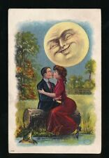 USA Romance & Love Moonlight Sonatas series embossed c1900/20s? PPC